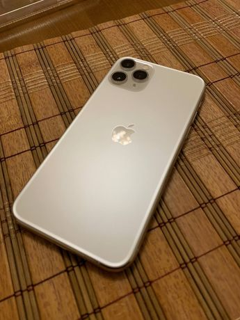 Продам iPhone 11 Pro 256 gb Silver NeverLock 10/10 Магазин