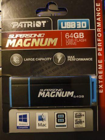 Pendrive Magnum Patriot Supersonic 64GB USB 3.0 PEF64GSMNUSB