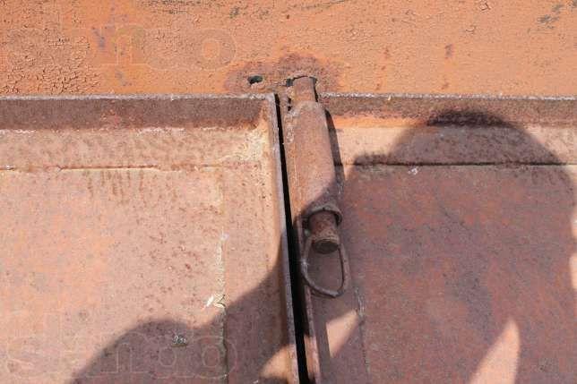 Гаражные ворота под блок