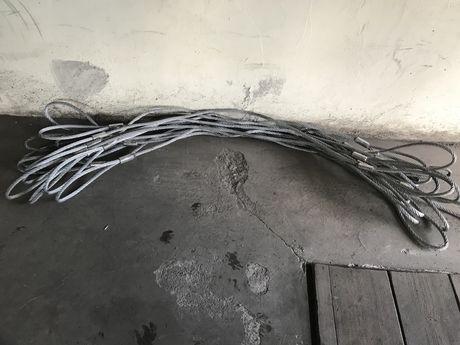 Lina stalowa, zawiesie stalowe,transportowa,holownicza fi15mm,dł.205cm