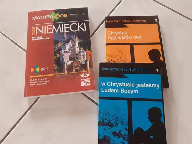 Książki  j.niemiecki matura z plyta i religia