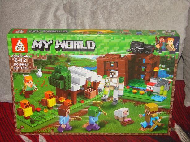 klocki MY WORLD 501 el. Kryjówka Rozbójników