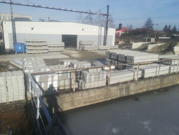 Słupki betonowe 8x7 220cm ogrodzeniowe producent