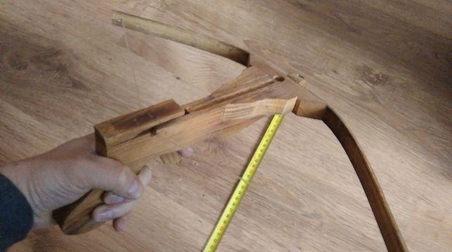 Kusza drewniana na strzałki