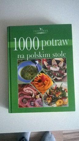 Książka kucharska 498 stron