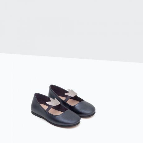 Туфли Zara 22 и туфли zara зара 26 размера!Цена за 1 пару!