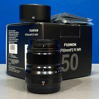 Fujifilm XF 50mm f/2 R WR (NOVA - 2 ANOS DE GARANTIA)