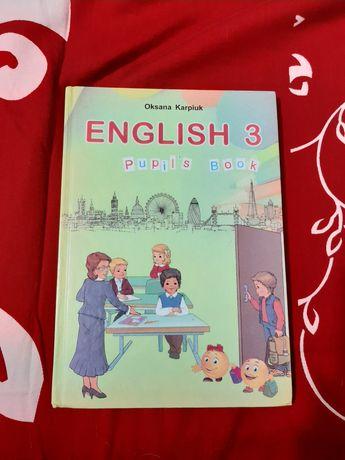 Учебник Английского Языка 3 класса Карпюк +диск