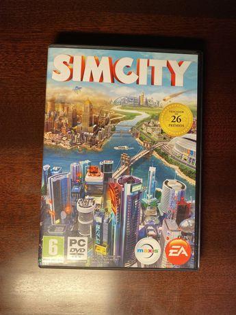 Jogo SimCity para o computador