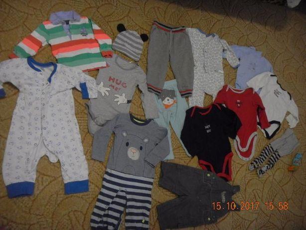 Пакет вещей на мальчика, 80 см