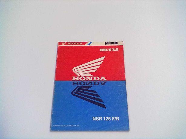 Manual do Proprietário Original Honda NSR 125 F-R