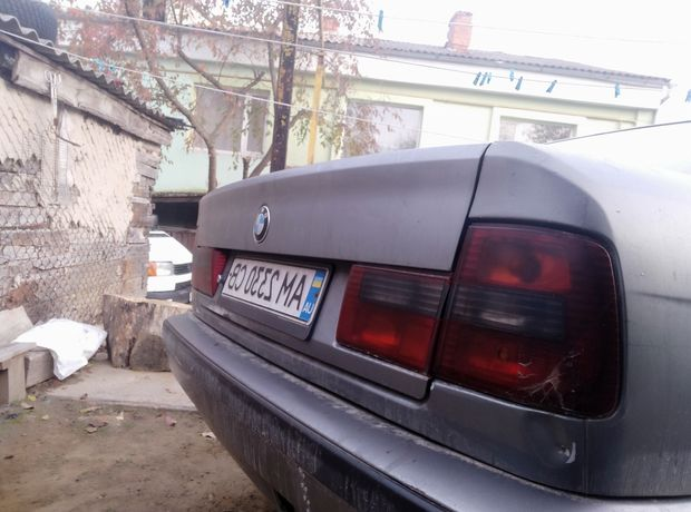 BMW 525 e34 ракета