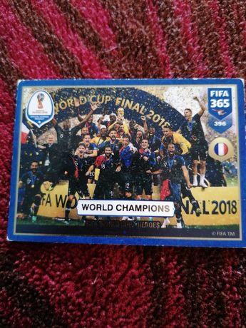 Karta FIFA panini 2019 Francja mistrzem świata