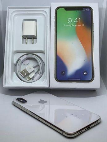Phone X 256 gb Neverlock Silver Гарантия Магазин