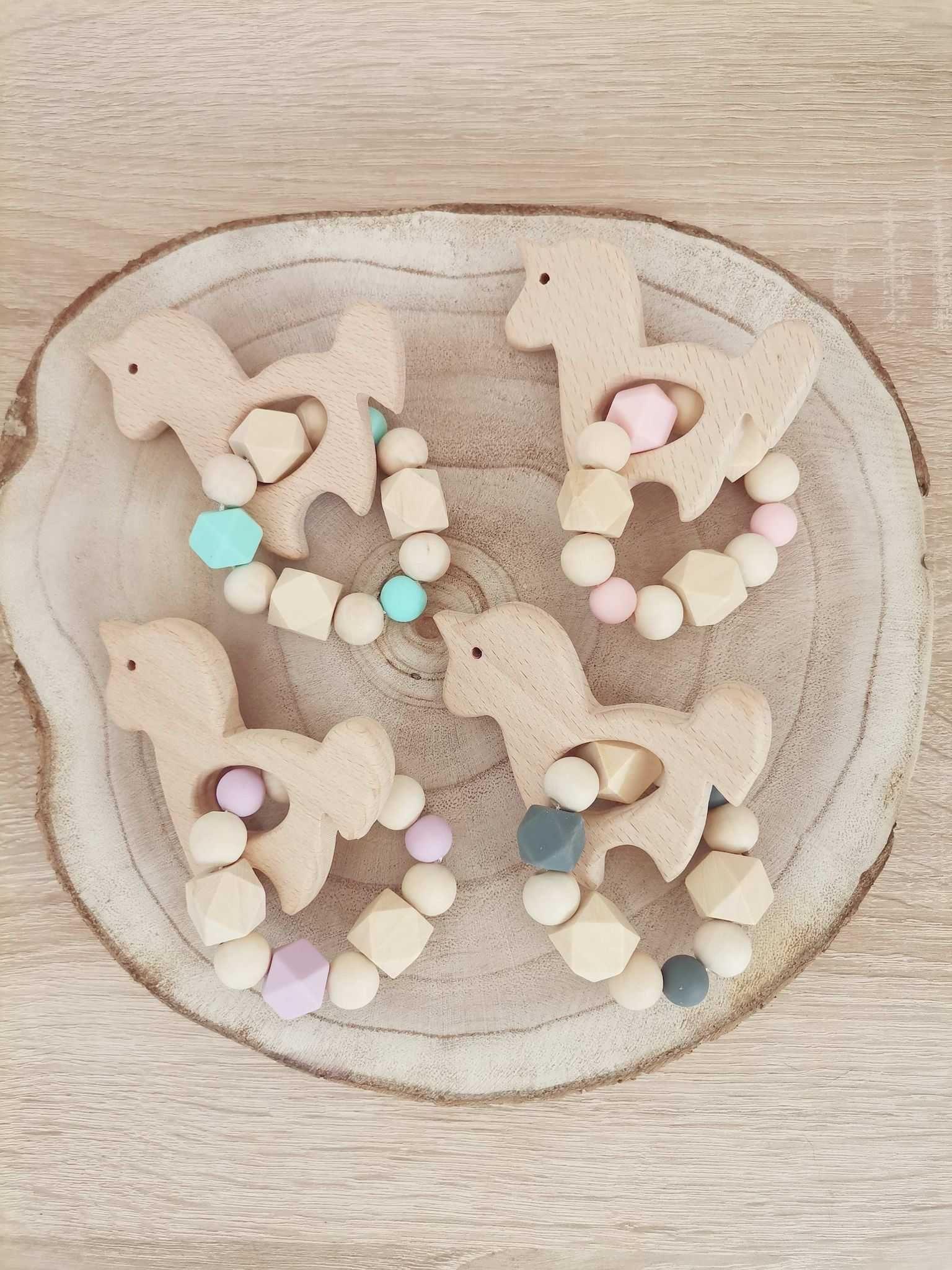 Brinquedos Mordedores de madeira