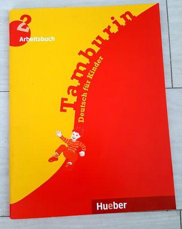 Tamburin deutsch fur Kinder 2 Arbeitsbuch ćwiczenia
