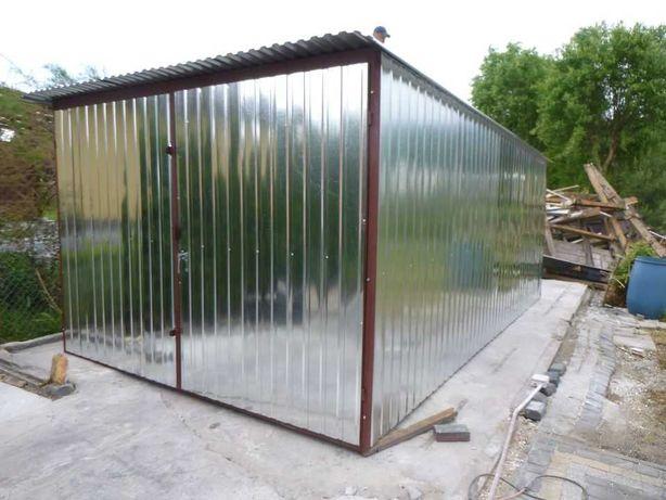 Garaż blaszany BLASZAK 3x5 dostawa - montaż - producent WZMOCNIONY