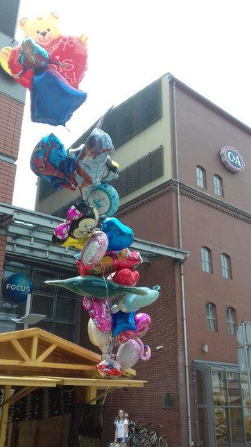 Pompowanie balonów helem hel balony 20-50 zl z helem