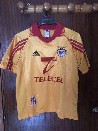 Camisola alternativa SL Benfica Adidas 1998-99 Telecel