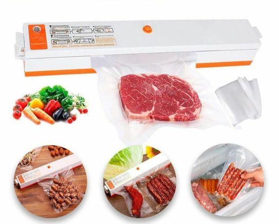 Вакууматор вакуумный упаковщик бытовой Freshpack Pro QH-01 10 пакетов