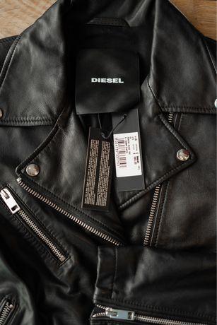 Оригинал Diesel Кожанная куртка Новая