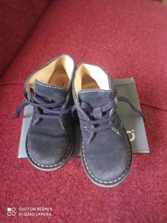 Туфли Ботинки Prigmi натуральная замша