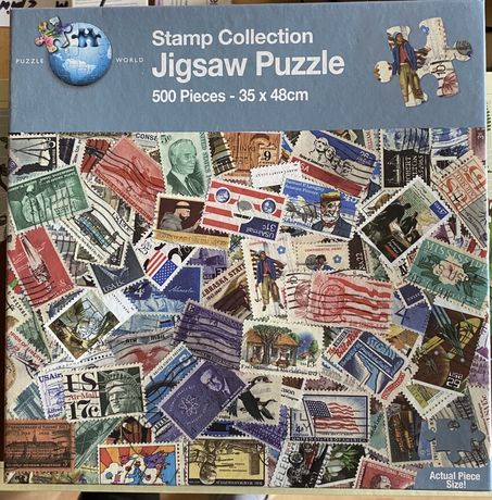 Puzzle Stamp Collection 500