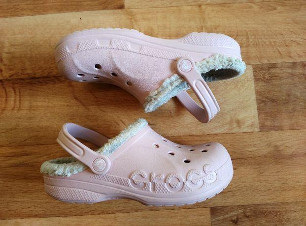 Крокси утеплені оригінал Crocs Baya Lined Unisex Adults' Clogs.