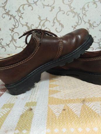 Туфлі на хлопчика кожані, туфли на мальчика, осінь-весна, 36-37р