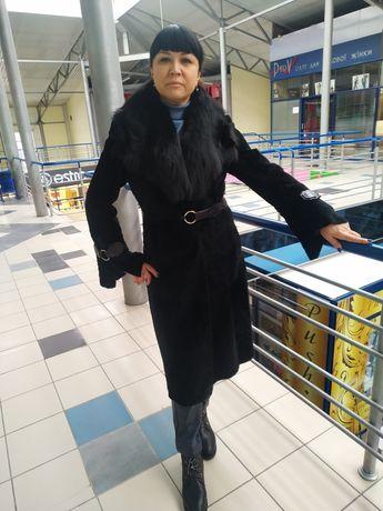 Пальто, дубльонка мутон