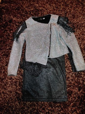 Костюм сукня і піджак