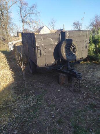 Прицеп одноосний тракторный