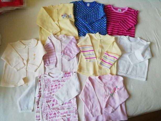 kaftaniki i bluzeczki dla dziewczynki