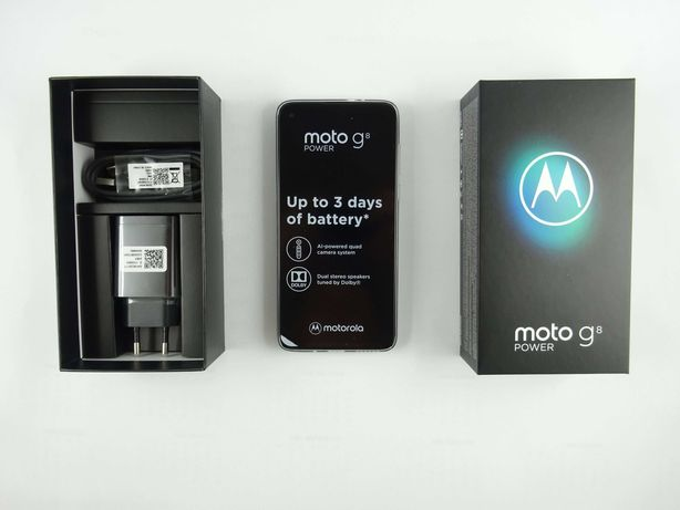 Telefon Motorola Moto G8 Power 4 + 64GB - nowy!