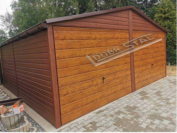 Garaż 6x6 Drewnopodobny, PROFIL