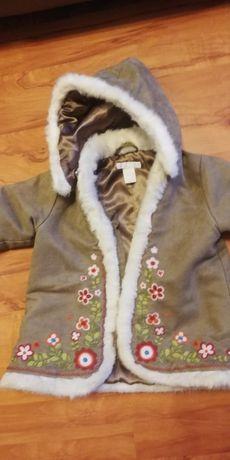 Kożuszek dla dziewczynki HM roz. 74