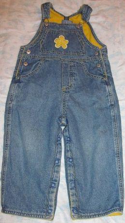 Джинсовый комбинезон джинсы штаники