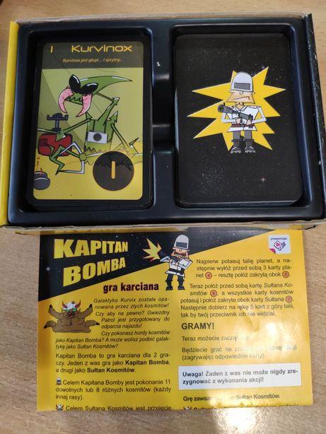 Kapitan Bomba gra karciana karcianka 4fun Walaszek VHS DVD RZADKI!