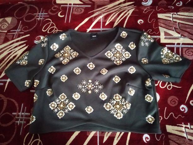 блуза з паєтками