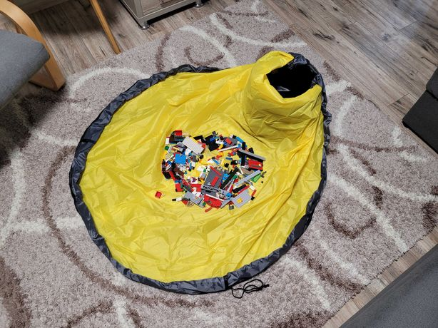 Корзина мешок коврик для игрушек для Лего