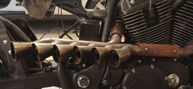 Układ wydechowy Honda Shadow Vt 1100