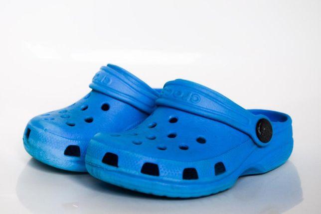 Buty Crocs C 6 7 klapki sandałki
