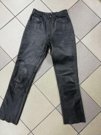 Spodnie motocyklowe IXS jak NOWE z naturalnej skóry