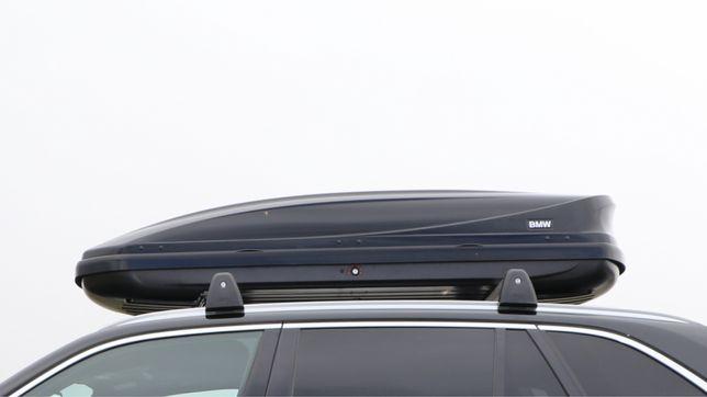 Mala porta bagagens + barras de tejadilho BMW 520