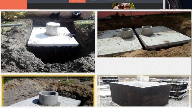 Szamba betonowe SZCZELNE 100% Zbiorniki na szambo i deszczówkę 5m3