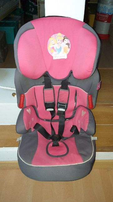 Cadeira auto das Princesas para menina - grupos 2 e 3