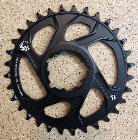SRAM Eagle X-SYNC Direct Mount Chainring 32T - 6mm Offset - black