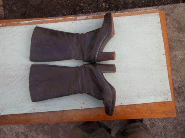 сапоги женские зимние теплые состояние нормальное размер 38 носились м