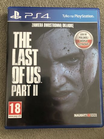 The Last Of Us II 2 ps4 PL