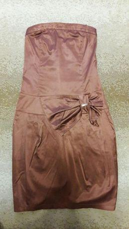 Продам коктельное платье с болеро на девушку